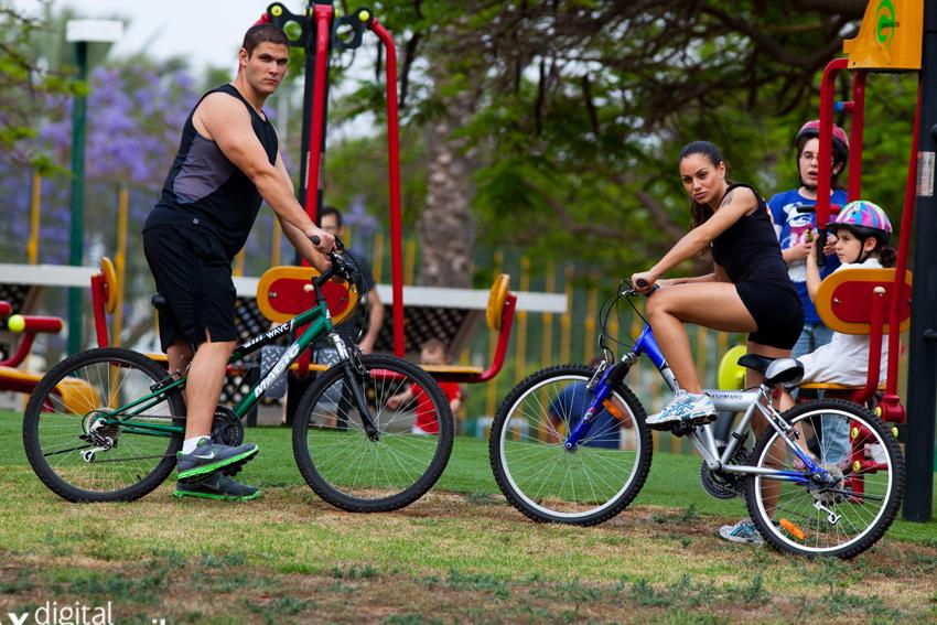 רכיבת אופניים: גם בריא - גם ירוק
