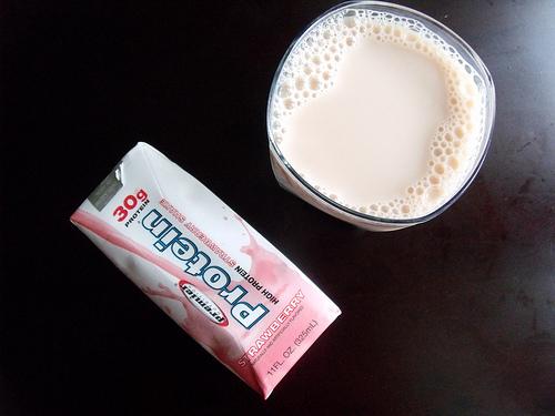 חלבון: כמה באמת נספג? CC BY iateapie