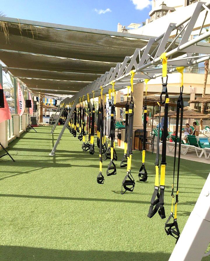 מתחם ה-TRX הגדול בישראל: בכנס בשנה שעברה